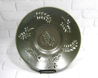 Fruit Bowl - Decorative platter - Ceramic Bowl - Centerpiece - accent piece - Tabletop decor