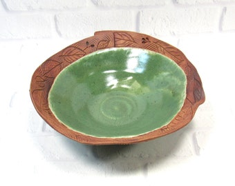 Decorative Ceramic Bowl - Centerpiece - accent piece - Tabletop decor