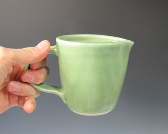 Small Pitcher Creamer Handmade Pottery