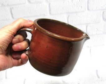 Pottery Creamer Small Pitcher