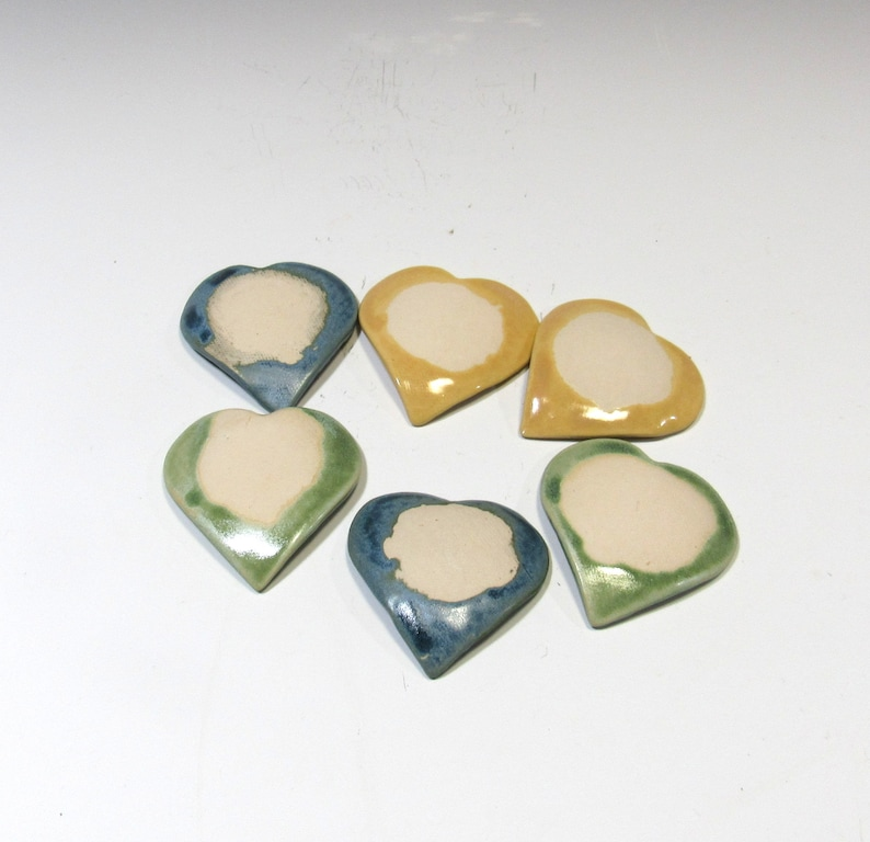 Ring Dishes Spoon Rests Heart Dishes Teabag Holder Set of Tiny Dishes