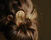 Coin bobby hair pins wedding accessories - Venus Style no. 2154