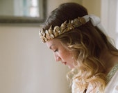 Aphrodite nautical seashell beach wedding crown No. 2288