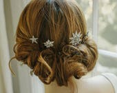 Starburst wedding hair pins - Aurora No. 2193