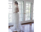 Olivia Cathedral Blusher bridal veil No. 2305