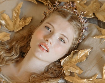 Kindred Spirit Butterfly Wedding Crown No. 2385
