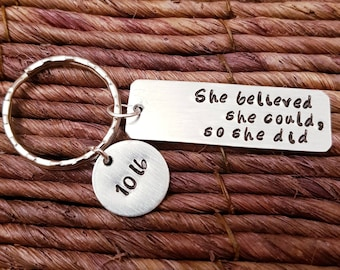 Weight Loss Keyring, Motivation Keychain, Diet Keychain, Weight Loss Jurney, Aluminum, Engraved Keychain, Fitness Keychain, Personalized