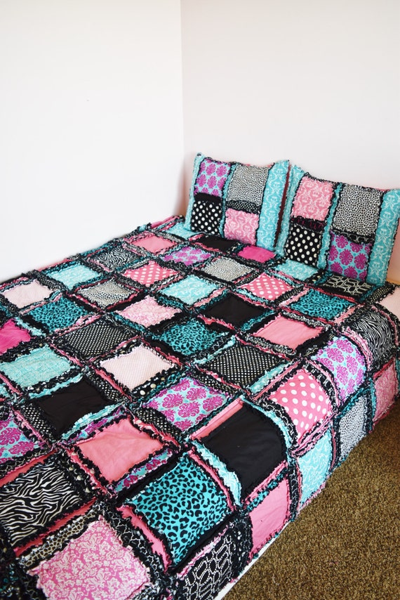 Zebra Bedding Paris Theme Bedroom Black Pink Turquoise Comforter Paris Bedding Available In Twin Full Queen King Size Bedspreads