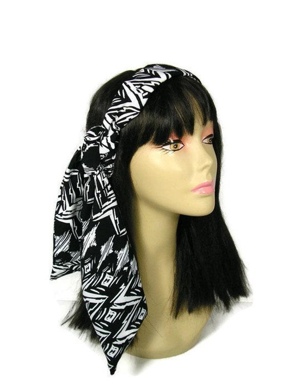 Bandanna SCARF Cotton Unisex Bandana Hair Neck FLAMES x 1