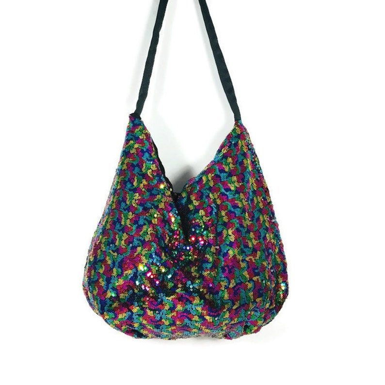 661f5c37132f9 Sequin Hobo Bag Sequin Hobo Purse Sequin Shoulder Bag Sequin Crossbody Bag  Sequined Handbag Sequined Hobo Bag Sequined Crossbody Bag Handbag