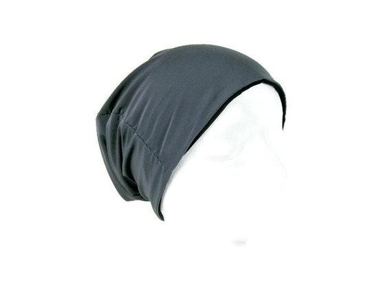 Benutzerdefinierte Größe grau Lycra Dome Beanie grau | Etsy