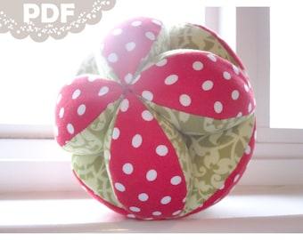 PDF Small Puzzle Ball Tutorial - 6 inch