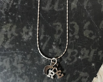 PREORDER Custom Sterling Silver Charm Necklace
