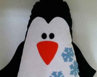 Penguin plushie softie