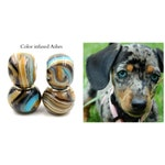 Dog Memorial Jewelry | Personalized European Style Charm Bead Made with Pet Ashes or Hair, Perfect Dog Memorial Gift | Custom Dog Keepsake