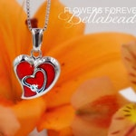 Memorial Beads, Flower Petal Jewelry, Funeral Flowers Made to Order Memorial Keepsake, Straight From the Heart