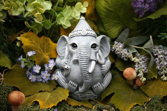 Ganesha Statue Concrete Garden Art Outdoor Ganesh Is 5x5x5 | Etsy