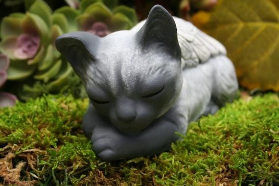 Cat Angel Siamese Cat Statue Pet Memorial Cat Sculpture | Etsy