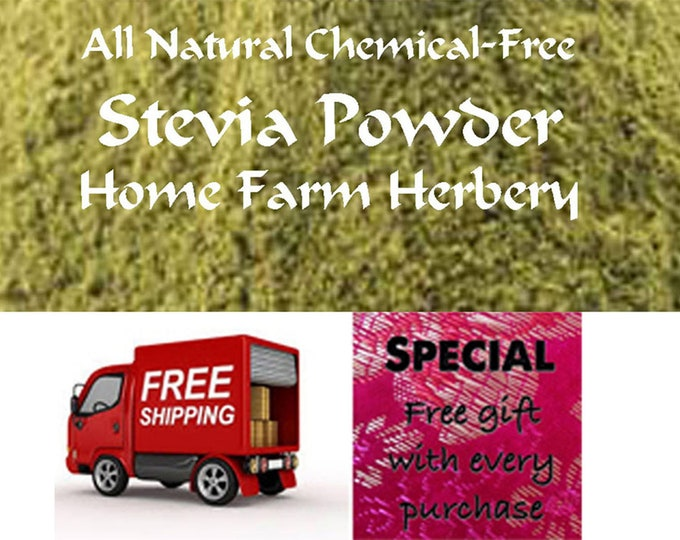 Order Our Pure All Natural Stevia Powder and get Free Shipping Now