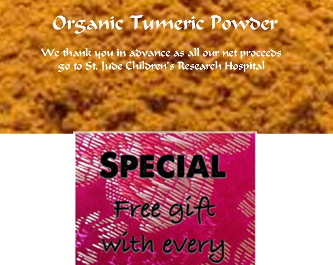 Turmeric, chemical free Ground, Special sale, reduced price and get a free gift