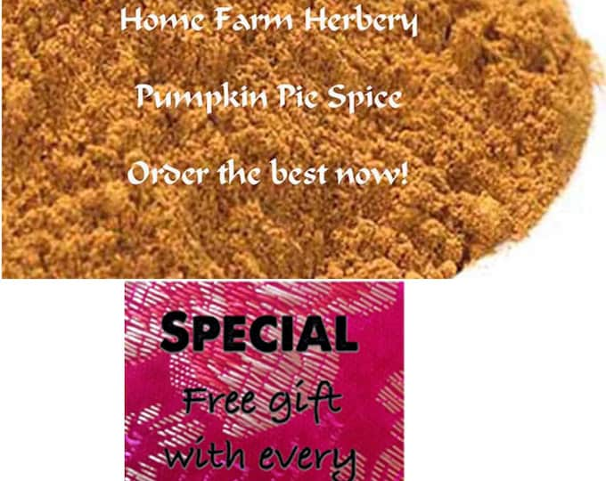 Order Organic Pumpkin Pie Spice now Special sale, reduced price, free gift!