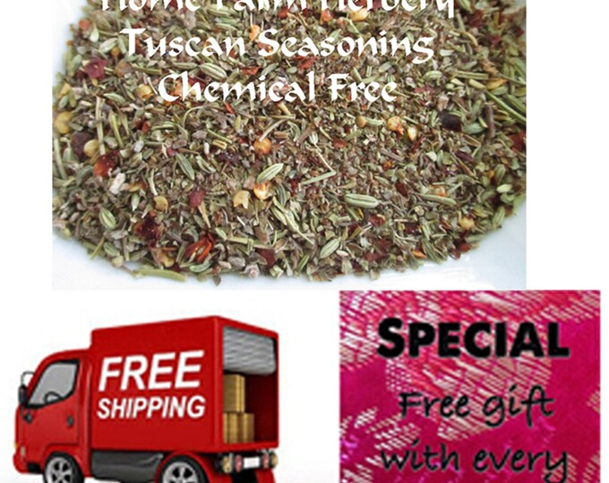 Order Tuscan Seasoning Blend now, Free shipping, special sale, reduced price, a free gift included!