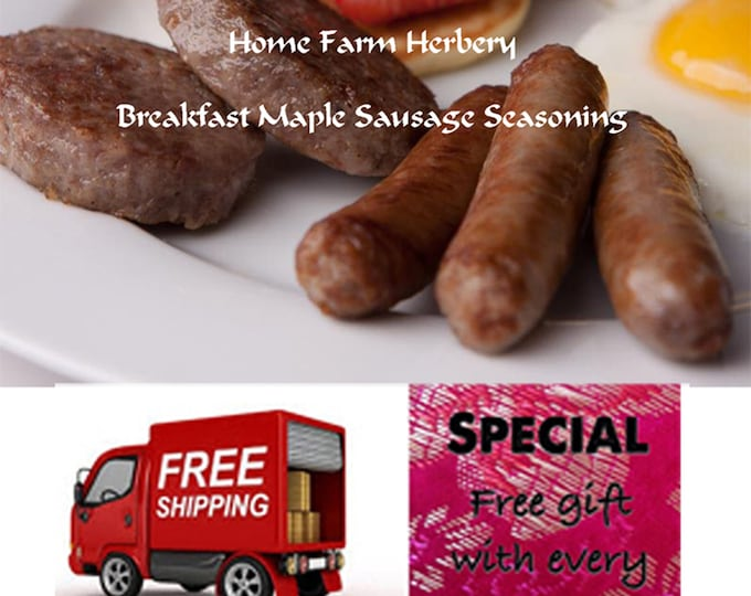 Order Breakfast Maple Sausage Seasoning now, special sale, reduced price, a free gift, FREE shipping!