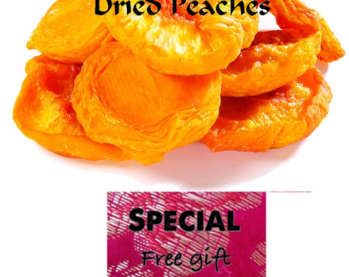 Order our Heart Healthy Dried Peaches now and get a FREE gift