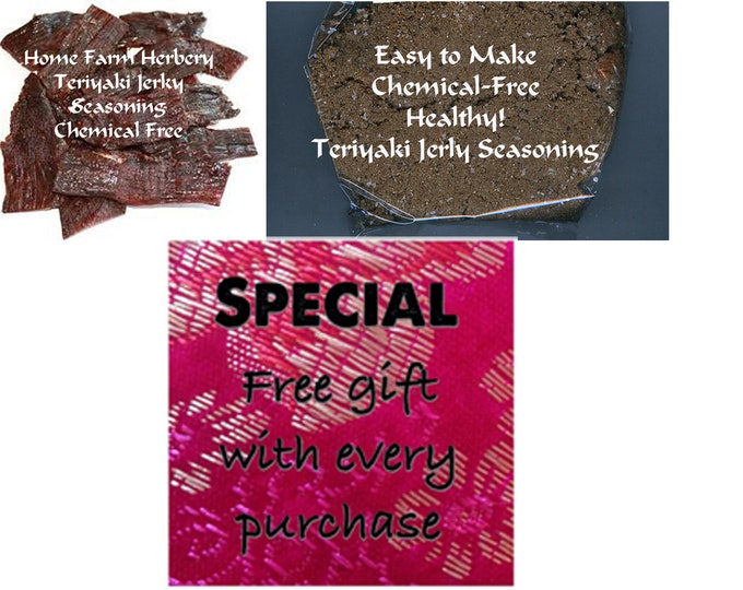 Teriyaki Jerky Seasoning easy to make, fun for a kids project and you can use beef, venison, turkey or any kind of meat.