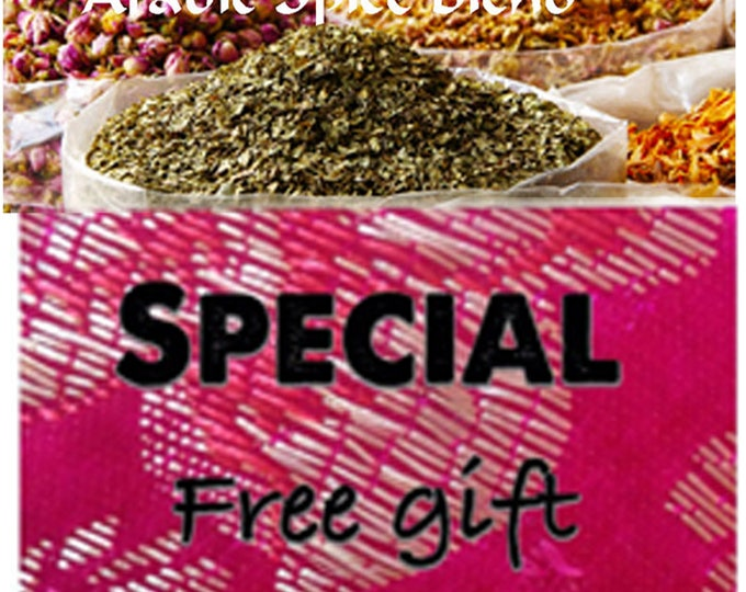 Arabic Spice Blend, Authentic, chemical free Order yours now, FREE shipping with minimum order.