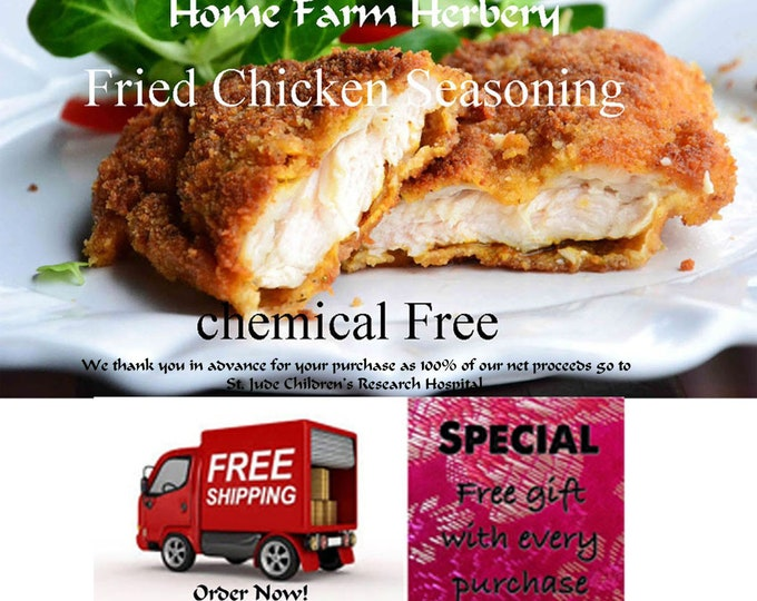 This is the best Fried Chicken Seasoning you will ever use, Order now