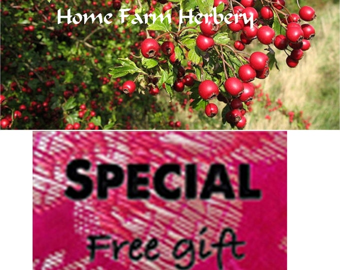Order Hawthorn Tree Heirloom Seeds now & get a FREE gift