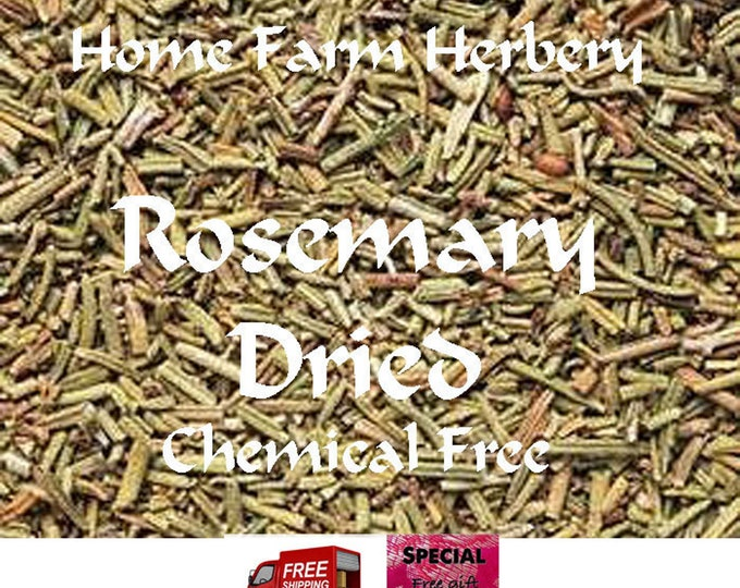 Dried Rosemary, Chemical FREE, Order now, a FREE gift, FREE shipping.