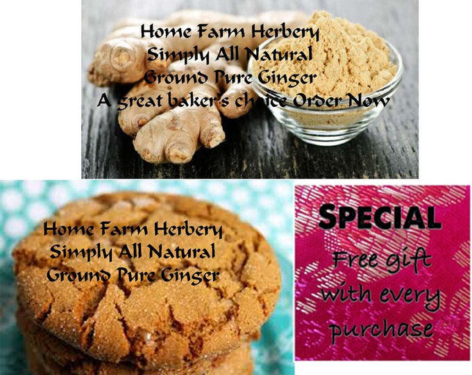 Simply All Natural Ginger Ground Pure Order Now and you will be buying the BEST