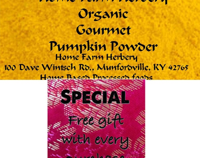 Featured listing image: Pumpkin Powder All Natural