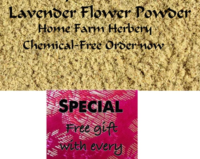Order the best Lavender Flower Powder now & get a free gift