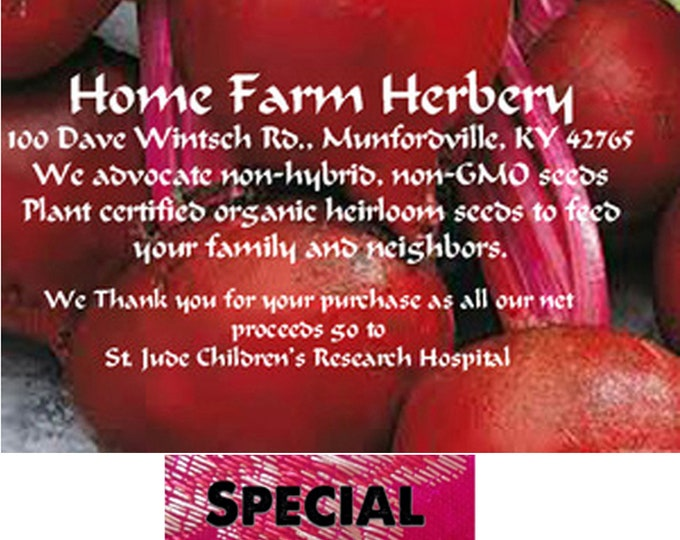 Order the best Beet, Detroit Dark Red Heirloom seeds now & a get a free gift