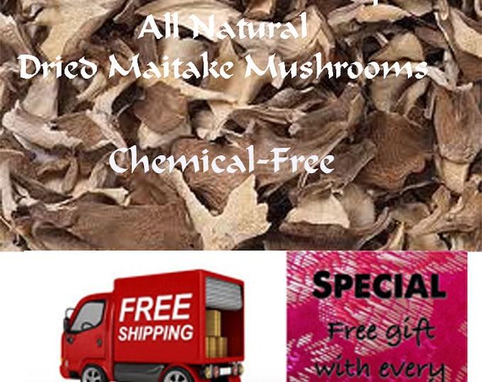 Maitake Mushrooms Dried rich, intense mushroom taste and earthy aromatic flavor Order now