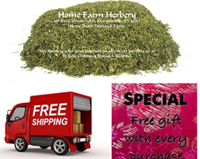 Dill Weed Organic. Free gift, free shipping.