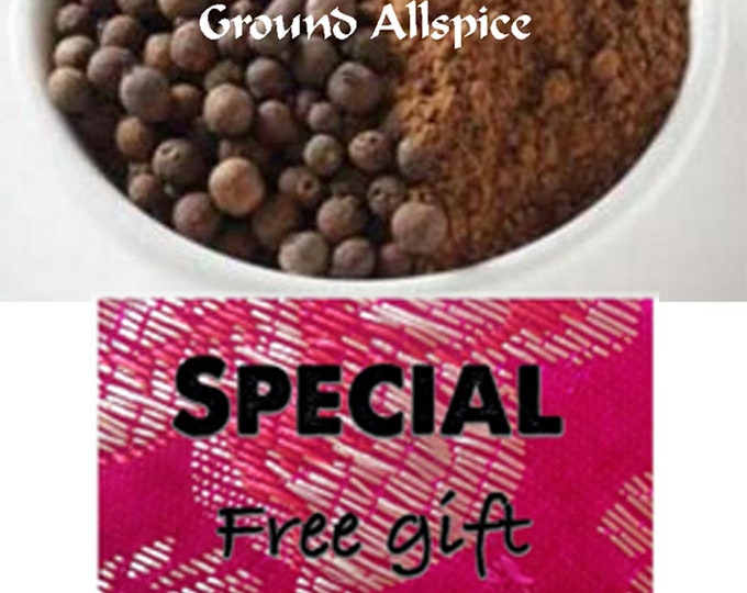 Allspice 100% Pure and Ground from Home Farm Herbery is the Best you can buy. Order now FREE shipping with minimum order.