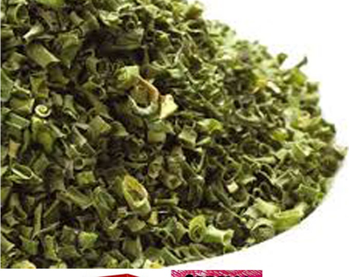 Dried Chopped Chive Rings (All natural) Sampler special sale, reduced price, free gift, free shipping!