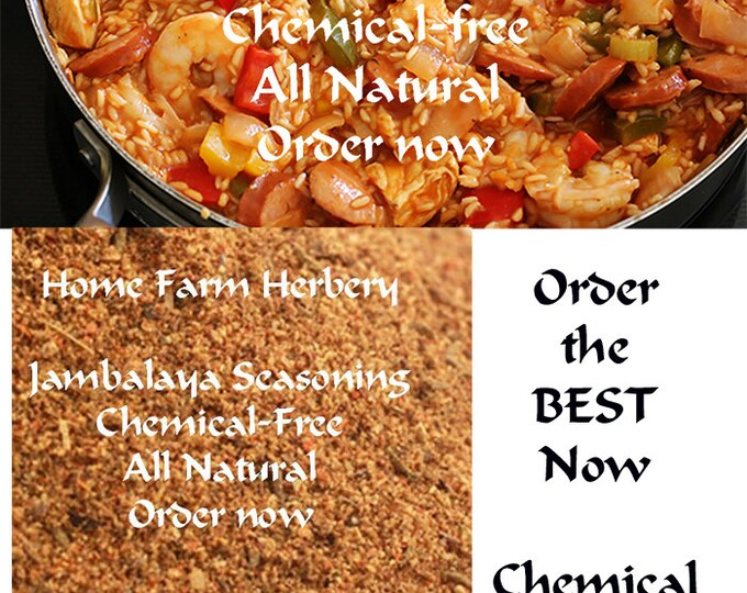 Jambalaya Seasoning, Salt-free, Order now, FREE gift included