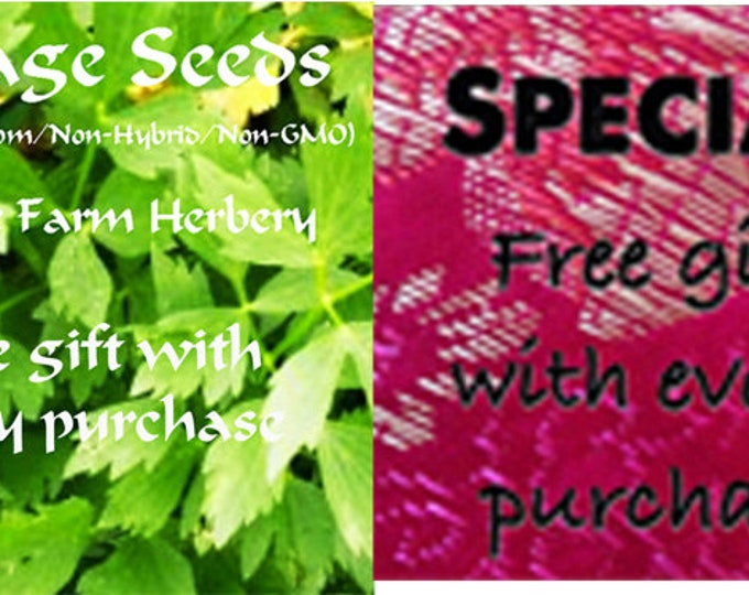 Order the best Lovage Heirloom Herb Seeds now and get a free gift
