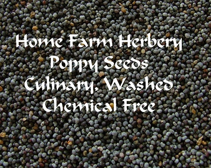 Our Poppy Seeds have a rich aroma and the nutty, earthy and toasty taste. Order now