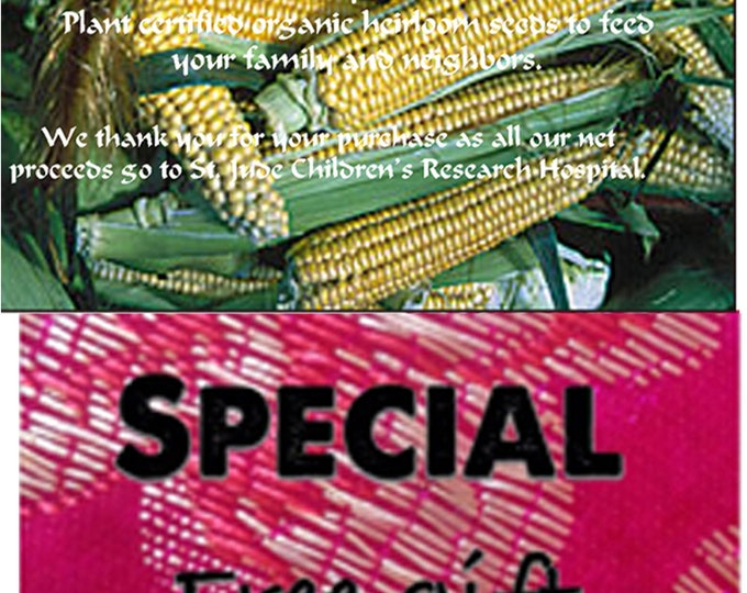 Order Corn, Golden Bantam Heirloom Seeds now get & a free gift, plus reduced price.
