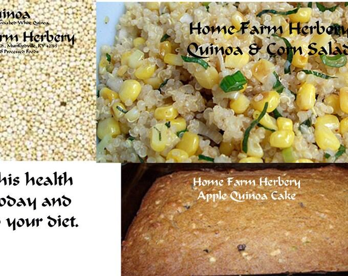 White Quinoa Prewashed, Order now, FREE shipping