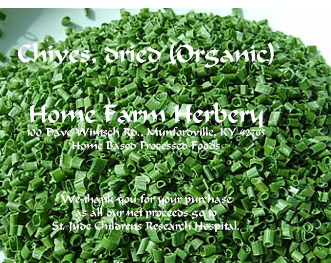 SUPER SALE, Dried Chives, Buy 3 & get 3 free, Order now + a FREE gift