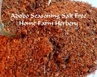 Our Adobo Seasoning is salt free and is a perfect blend with a south of the border flair Order now