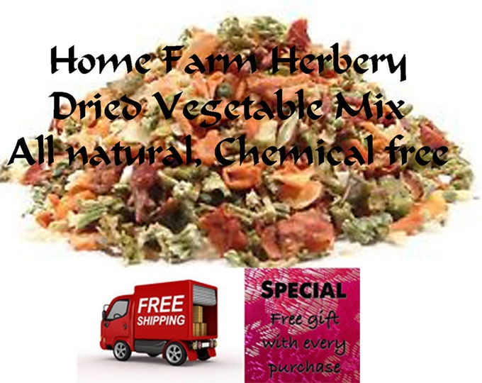 Order the best Dried Vegetable Mix now, FREE shipping, free gift, B3G1F