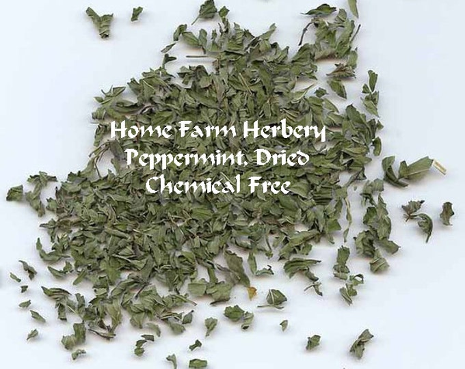 Our Home Farm Herbery Peppermint Leaf has a wonderful aroma and a sweet, fresh taste Order now